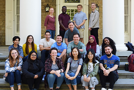 New Geography Graduate Students Arrive at Penn State