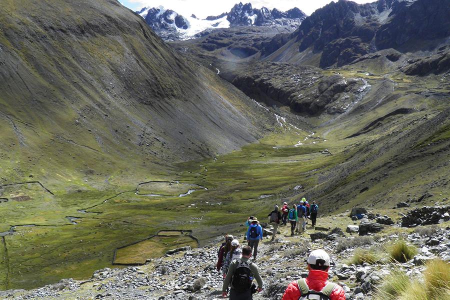 Traveling through Peru