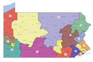 PA congressional districts in 2021