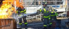 United Women Firefighters training event