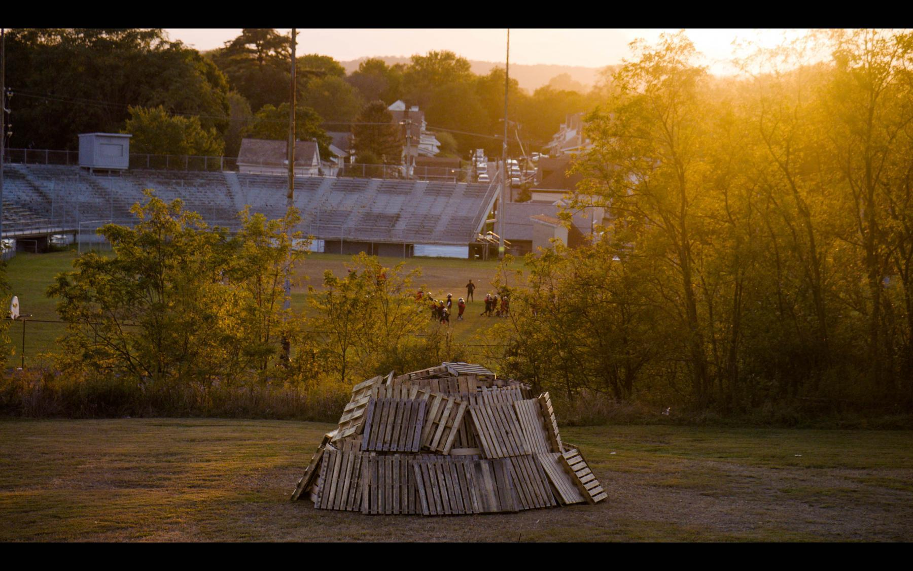 A screenshot from Megan Ruffe's forthcoming documentary about the history of Aliquippa, Pennsylvania.